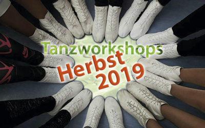Tanzworkshops Sommer/Herbst 2019 (Die Bütt)